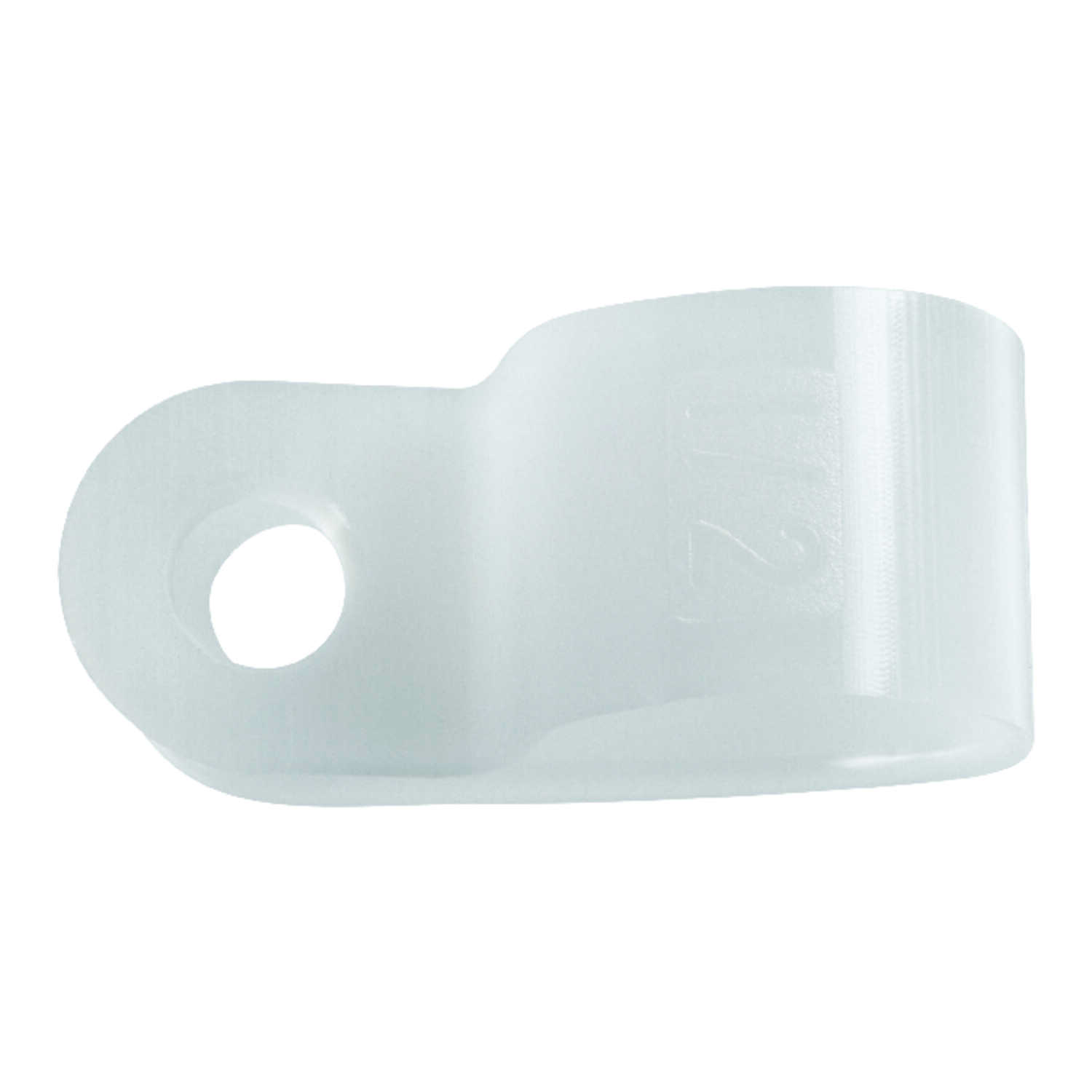Jandorf  1/2 in. Dia. Nylon  Cable Clamp  3 pk
