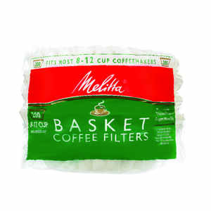 Melitta  12 cups Basket  Coffee Filter  1 pk