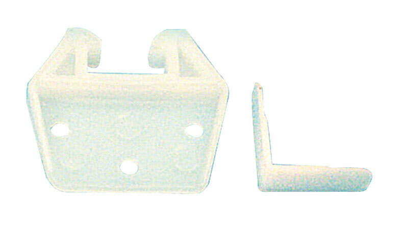 Prime-Line  3/4 in. L Plastic  Drawer Track Guide  1 pk