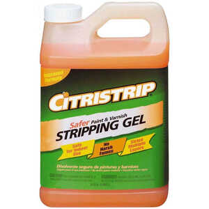 Citristrip  Safer Paint & Varnish Stripping Gel  Paint and Varnish Stripper  1/2 gal.