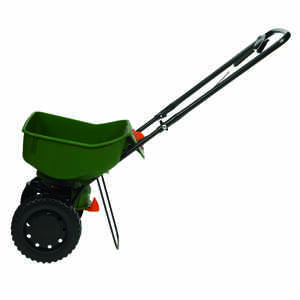 Scotts  Turf Builder EdgeGuard Mini  Push  Spreader  For Fertilizer