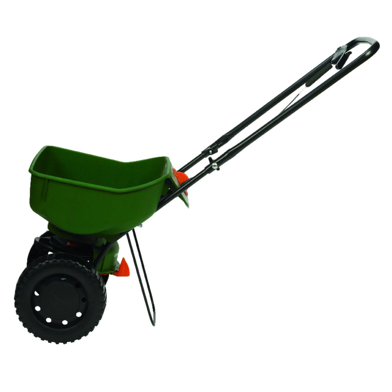 Scotts Turf Builder EdgeGuard Mini Push Spreader For Fertilizer