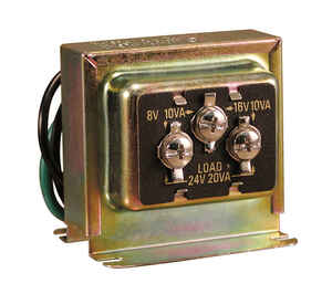 Heath Zenith  Metal  Door Chime Transformer