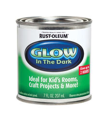 Rust-Oleum Specialty Glow in the Dark Flat Luminous Water-Based Glow-in-Dark Paint Interior 2