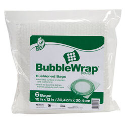 Duck  12 in. W x 12 in. L Bubble Bags