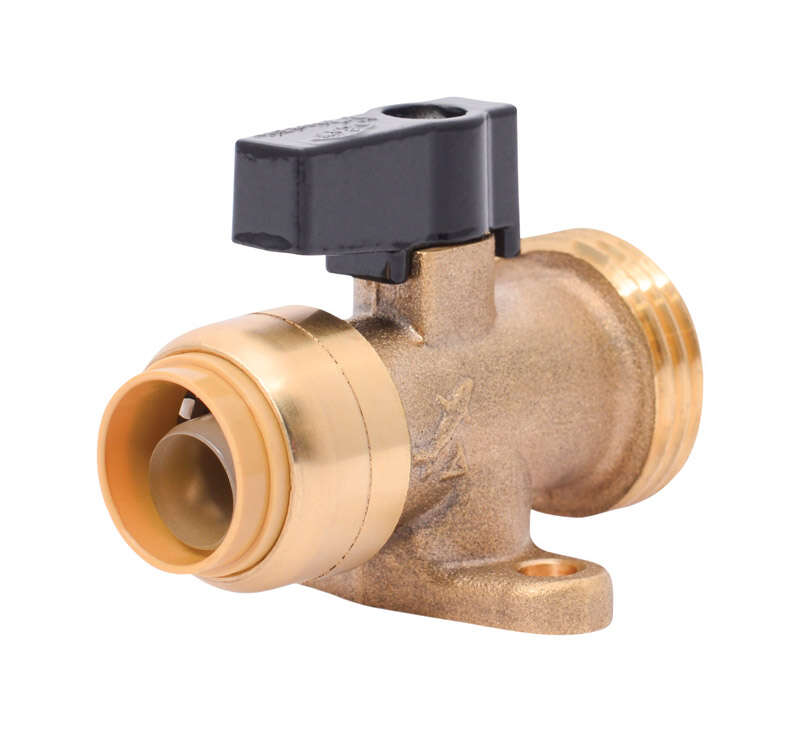 SharkBite  3/4 in. PTC   x 3/4 in.  MIP  Brass  Washing Machine Valve