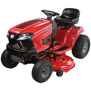 Craftsman  42 in. W Riding  420 cc Lawn Tractor  Mulching Capability