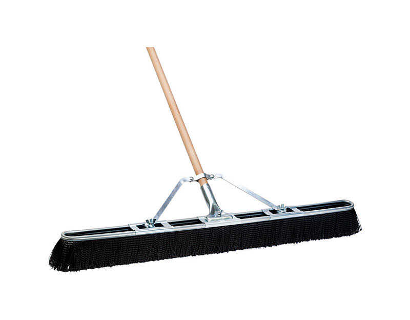 DQB  Push Broom  36 in. W x 60 in. L Synthetic