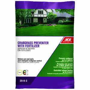 Ace  29-0-3  Crabgrass Preventer with Fertilizer  For Crabgrass