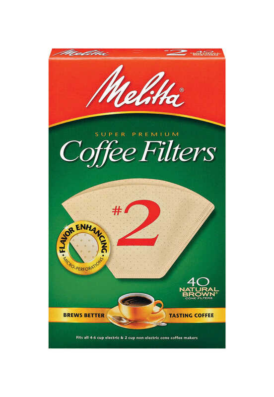 Melitta  6 cups Cone  Coffee Filter  1 pk