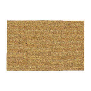 DeCoir  Natural Tan  Tan  Coir  Nonslip Door Mat  18 in. L x 30 in. W