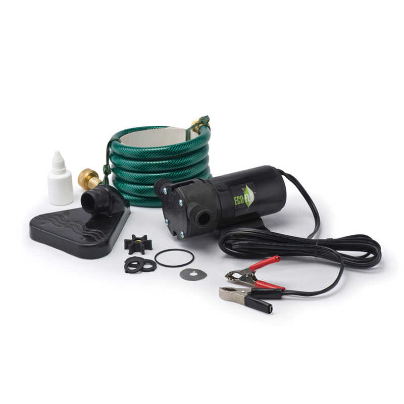 Ecoflo  Cast Iron  Utility Pump Kit  1/12 hp 360 gph 12 volt