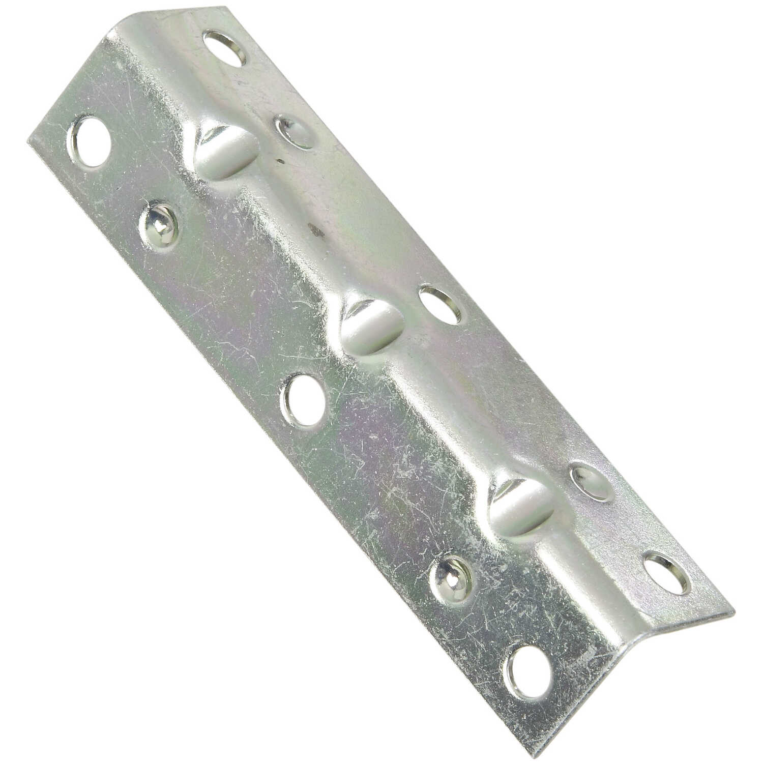 National Hardware  3-1/2 in. H x 3/4 in. W x 0.04 in. D Zinc-Plated  Steel  Inside  Corner Brace