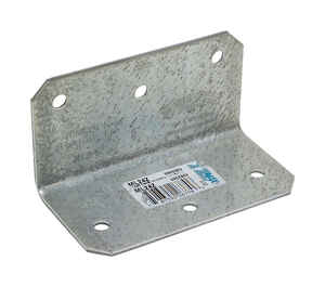 Simpson Strong-Tie  2 in. H x 2 in. W x 4 in. L Galvanized Steel  Medium L-Angle