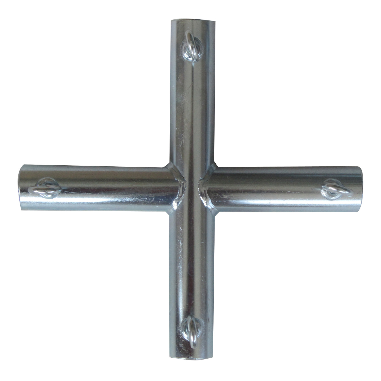 AHC  1 in. Round   x 1 in. Dia. x 10 in. L Galvanized  Carbon Steel  Connector
