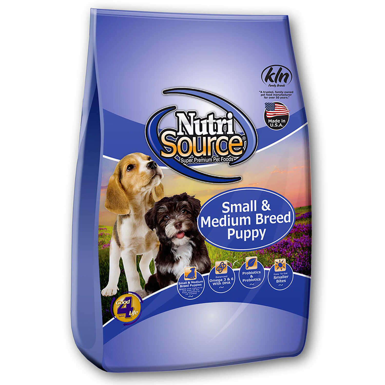 Nutri Source  Chicken and Rice  Cubes  Dog  Food  18 lb.