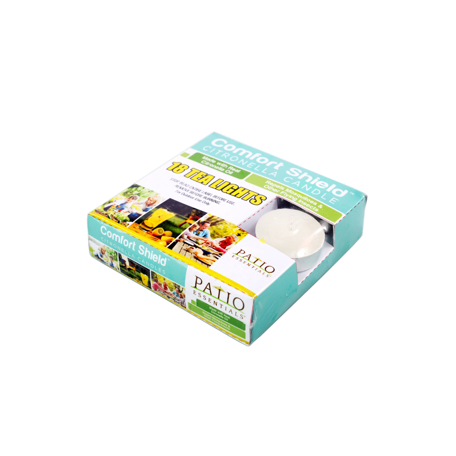 Patio Essentials  Candle  Wax  For Mosquitoes/Other Flying Insects 18 pk