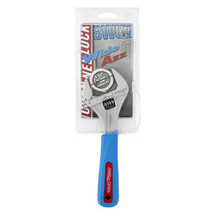 Channellock  WIDEAZZ  8 in. L Metric and SAE  Adjustable Wrench  1 pc.