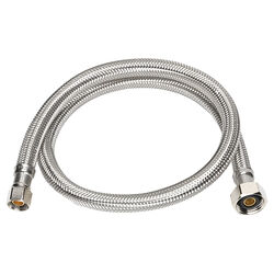 Ace  3/8 in. Compression   x 1/2 in. Dia. FIP  36 in. Stainless Steel  Supply Line