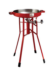 FireDisc  Liquid Propane  Portable  Grill  1 burners Red