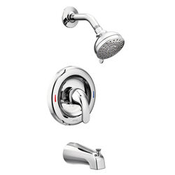 Moen Adler 1-Handle Chrome Tub and Shower Faucet