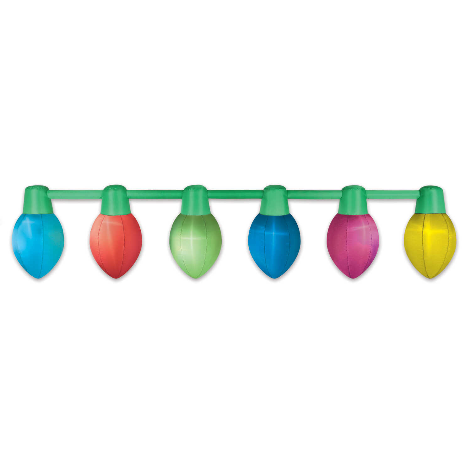 Occasions  Parade Lights  Christmas Inflatable  Multicolored  1 each Polyester