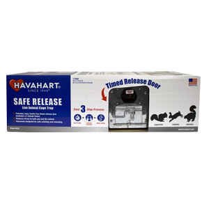 Havahart  Safe Release  Medium  Live Catch  Animal Trap  For Squirrels 1 pk