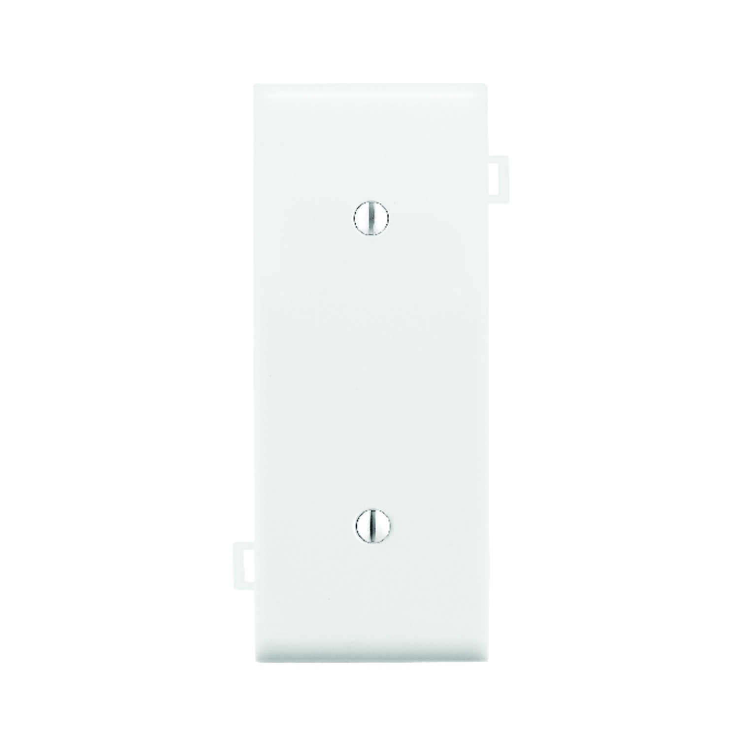 Leviton  Center Section  White  1 gang Nylon  Wall Plate  1 pk
