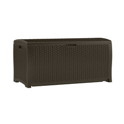 Suncast 50 in. W x 26 in. D Brown Plastic Deck Box