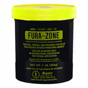 Fura-Zone  Gel  Topical Ointment  For Horse 1 lb.