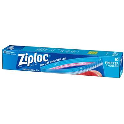 Ziploc  2 gal. Freezer Bag  1 pk Clear