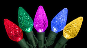Celebrations  Platinum  LED C9  Light Set  Multicolored  74 ft. 75 lights