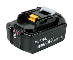Makita  LXT  18 volt 4 amps Lithium-Ion  Battery  1 pc.