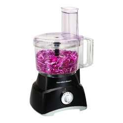 Hamilton Beach  Black  64 oz. Food Processor  450 watt