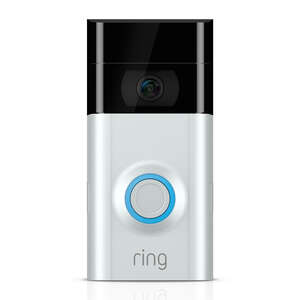 Ring  Assorted  Metal/Plastic  Wireless  Video Door Bell