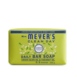 Mrs. Meyer's  Clean Day  Organic Lemon Verbena Scent Bar Soap  5.3 oz.