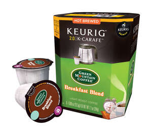 Keurig  Starbucks  Breakfast Blend Light Roast  K-Carafe Pack  8 pk