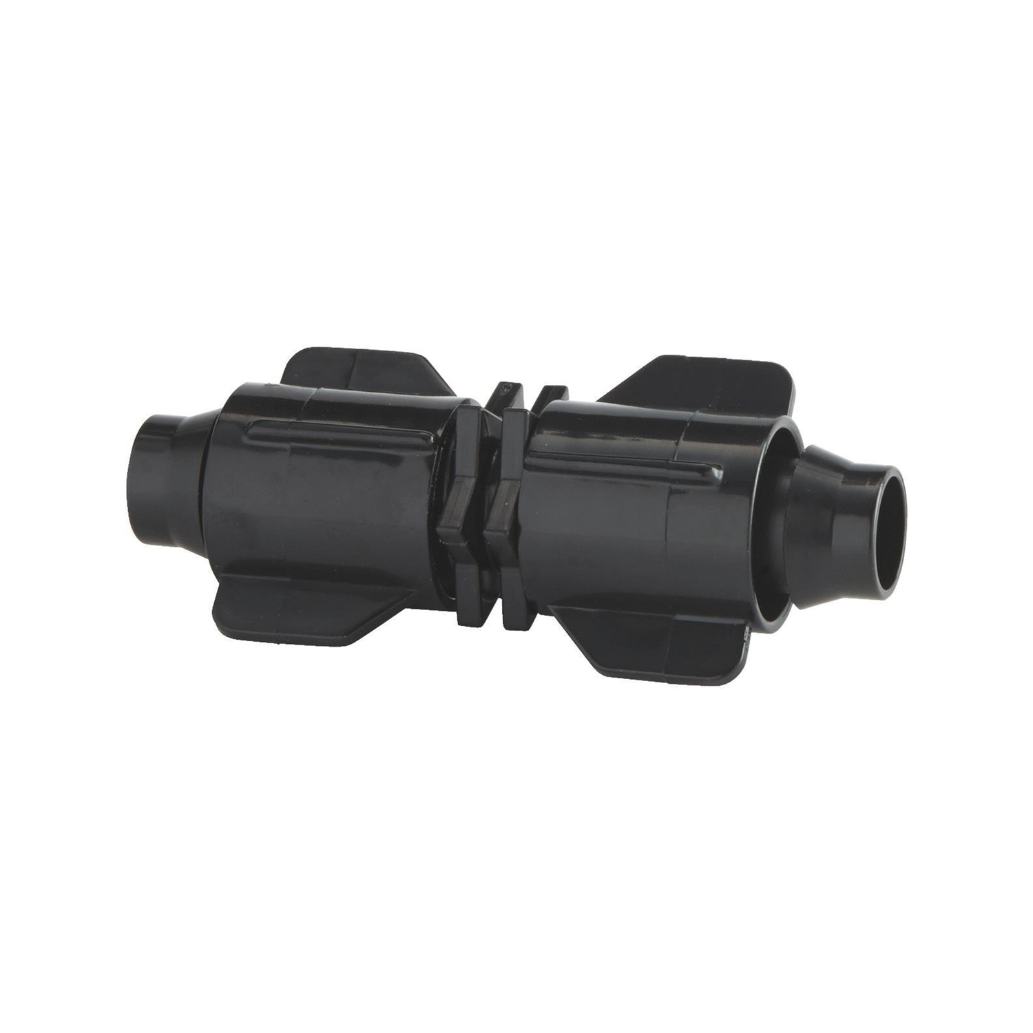 Raindrip  Plastic  Drip Irrigation Stretch and Lock Coupler  4