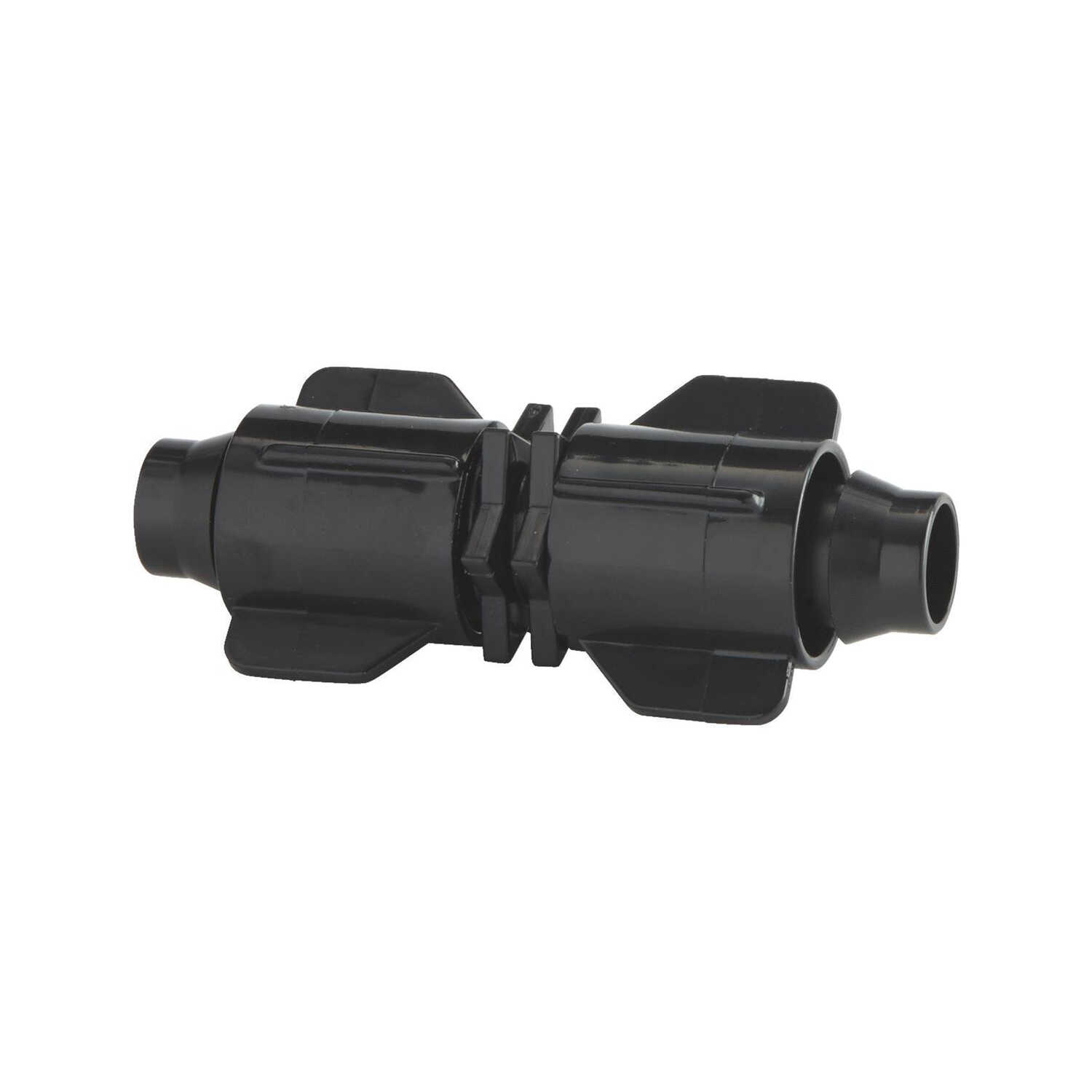 Raindrip  Drip Irrigation Stretch and Lock Coupler  1 pk Plastic