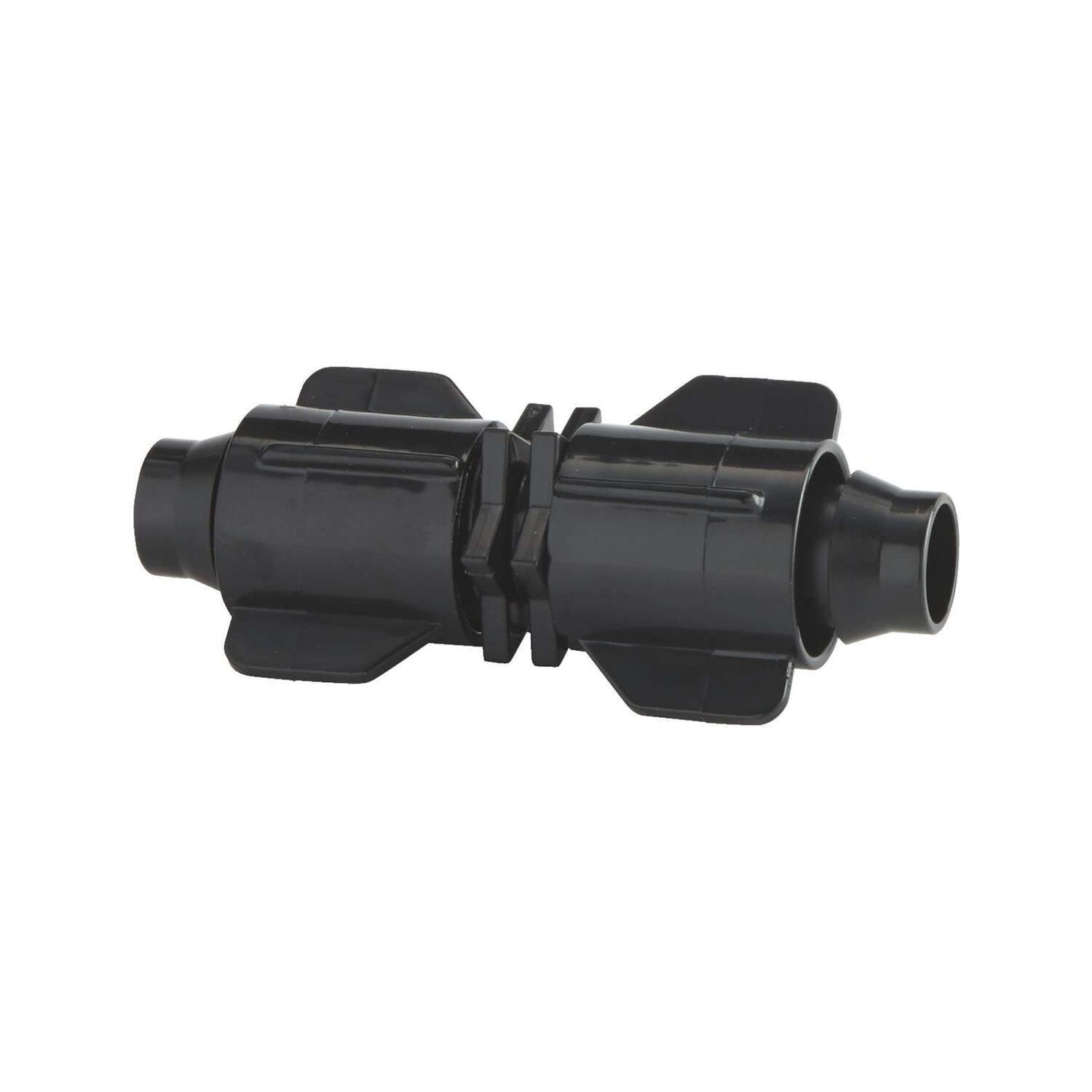 Raindrip  Plastic  Drip Irrigation Stretch and Lock Coupler  1 pk