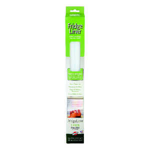 Warp's  16 in. L x 15 in. W Clear  Non Adhesive  Fridge Liner
