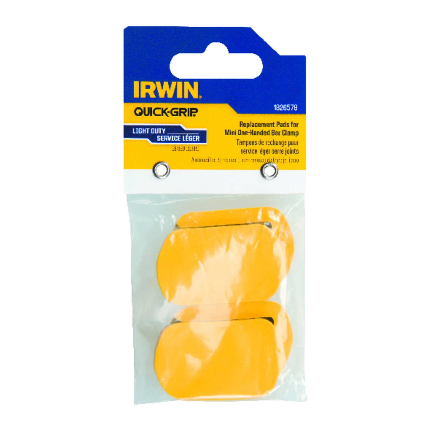 Irwin  Quick-Grip  3.5 in. D Plastic  Bar Clamp  150 lb. 4 pc.