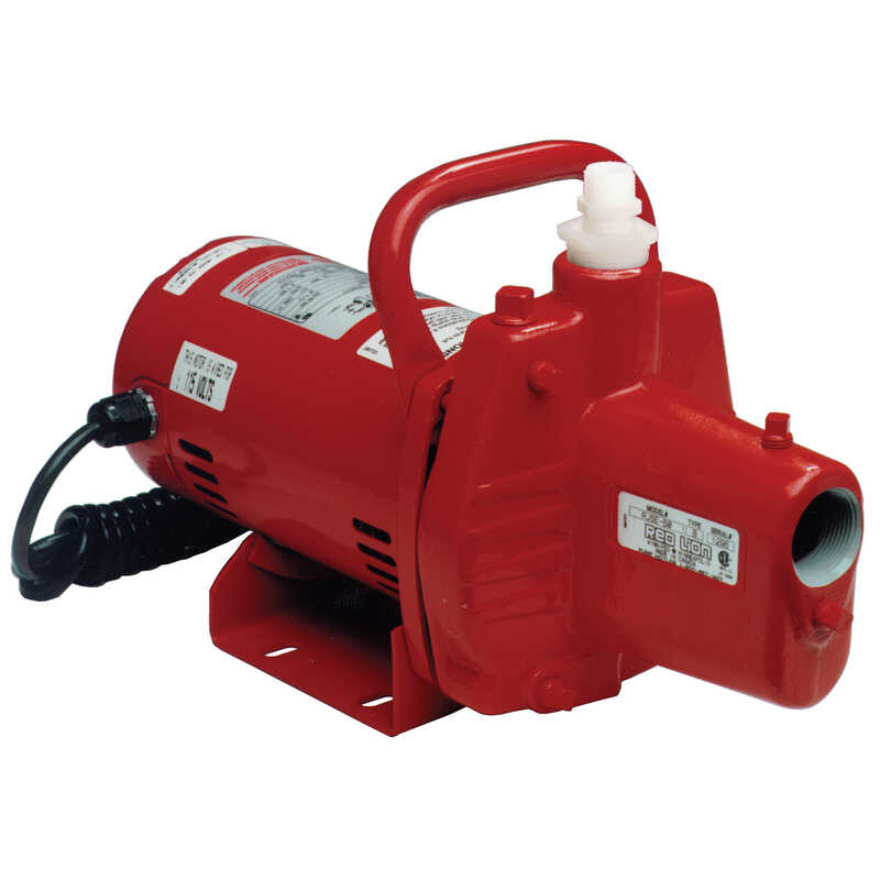Red Lion  Cast Iron  Self-Priming Sprinkler Pump  1/2 hp 12.8 GPM  115 volts