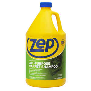 Zep  Commercial  Pleasant Scent Carpet Shampoo  128 oz. Liquid  Concentrated