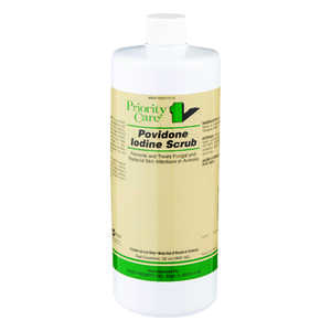 First Priority  Liquid  Anti-bacterial Anti-fungal Solution  For All Animals 32 oz.