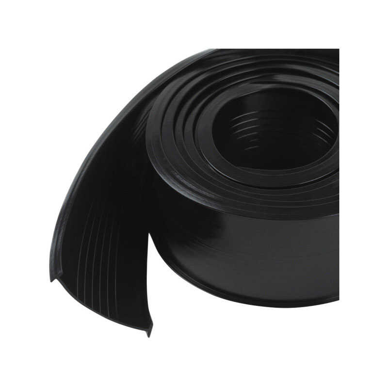 M-D Building Products  Black  Vinyl  Weather Stripping  For Garage Door 9 ft. L x 1/16 in.