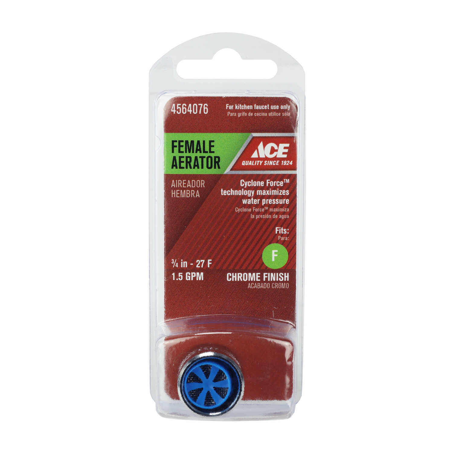 Ace Female Aerator 0 In X 3 4 In Chrome Ace Hardware