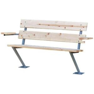 Tommy Docks  Brown  Wood  Dock Bench