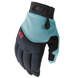 Ace M I-Mesh Ladies General Purpose Black/Mint Gardening Gloves