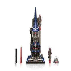 Hoover  Windtunnel 2  Bagless  Corded  Upright Vacuum  12 amps Blue  HEPA